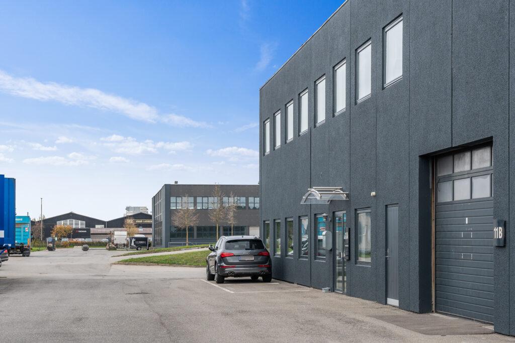 Hammerholmen 9-13, facade